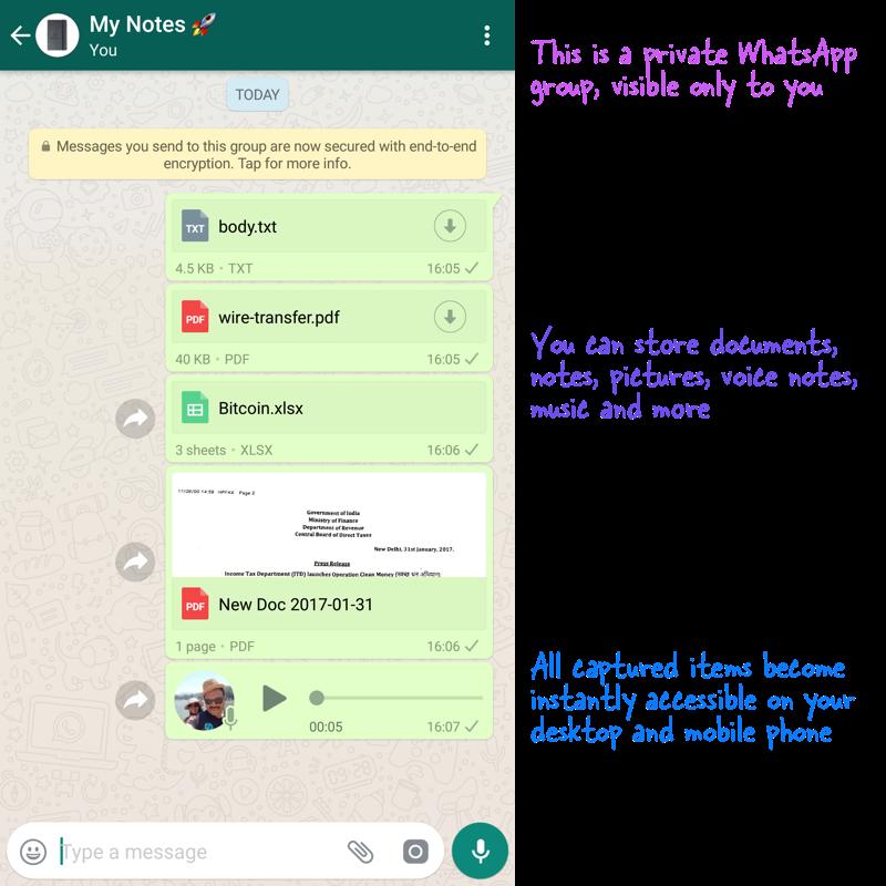 Whatsapp my personal storage  – Aj Maurya  An Engineer